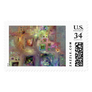 Crystalline Squares 8 Stamps