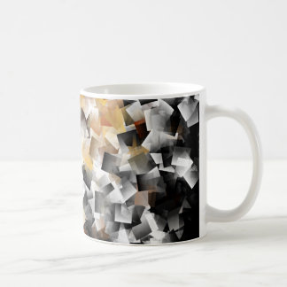 Crystalline Squares In Multidimensional Scenery Coffee Mug
