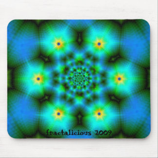 Crystalline Turquoise Mouse Pad