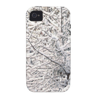 Crystalline Winter NC  Snow Water trees Sunrise Vibe iPhone 4 Cover