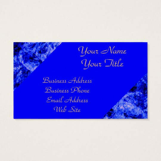 Crystallized by Kenneth Yoncich Business Card