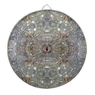 Crystallized Dandelions Dartboard With Darts