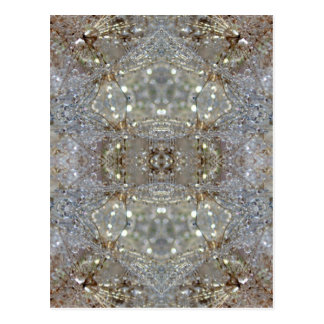 Crystallized Dandelions Postcard