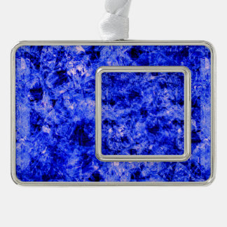 Crystallized Silver Plated Framed Ornament