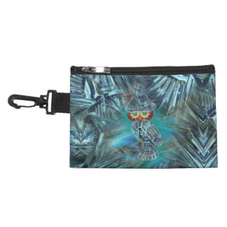 Crystallized Winter Fashion Clip On Accessory Bag