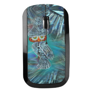 Crystallized Winter Fashion Owl Wireless Mouse