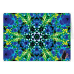 Crystalmarine KC Kaleidoscope Greeting Card