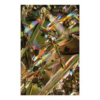 Crystals/Aluminate under the microscope Stationery