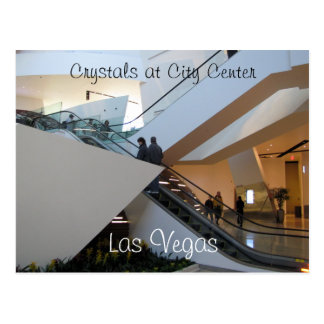 Crystals at City Center, Las Vegas Postcard