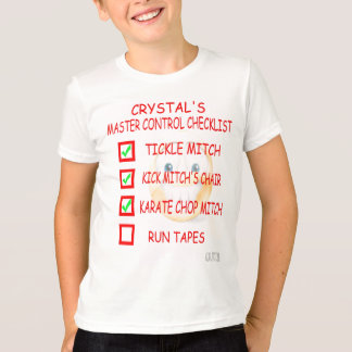 Crystal's Checklist T-Shirt