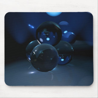 Crystals Four Mouse Mat