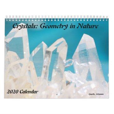 Crystals:Geometry in Nature Calendar