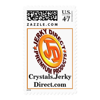 Crystals.JerkyDirect.com Timbres Postales