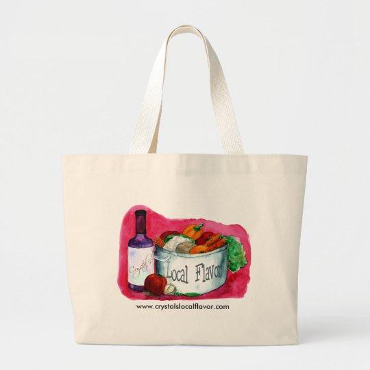 Crystal's  Local Flavor bag