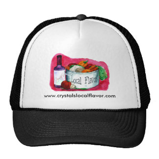 Crystal's Local Flavor hat