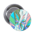 crystals pinback button