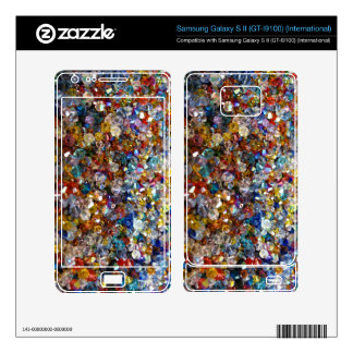Crystals Zazzle Skin for the Samsung Galaxy S ll Samsung Galaxy S II Skin