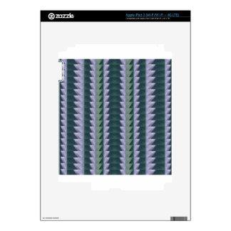 CRYTSTAL Blue White Deco Healing Stone NVN693 FUN Skin For iPad 3