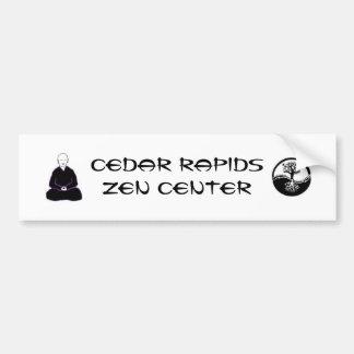 CRZC bumper sticker