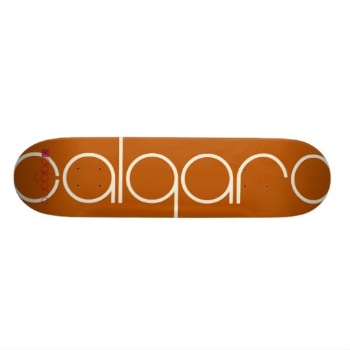 CS-2 Orange Skate Boards