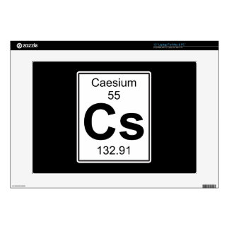 """Cs - Caesium 15"""" Laptop Skins"""