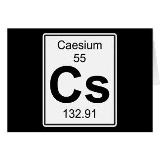 Cs - Caesium Card