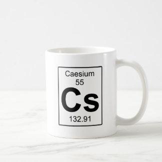 Cs - Caesium Coffee Mug