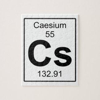 Cs - Caesium Jigsaw Puzzle