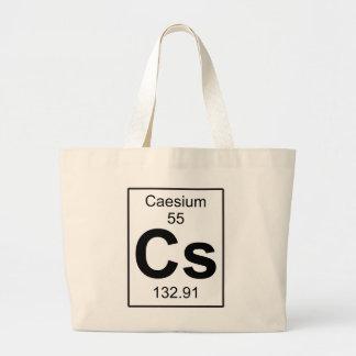 Cs - Caesium Large Tote Bag