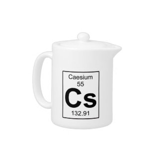 Cs - Caesium Teapot