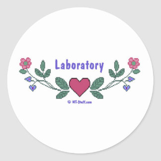 CS Laboratory Classic Round Sticker