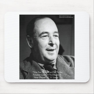 """CS Lewis """"Aging Dreams"""" Wisdom Quote Gifts Mouse Pad"""