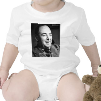 "CS Lewis ""Aging Dreams"" Wisdom Quote Gifts Bodysuits"