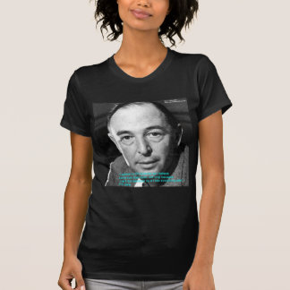 """CS Lewis """"Being Christian"""" Wisdom Quote Gifts T-shirt"""