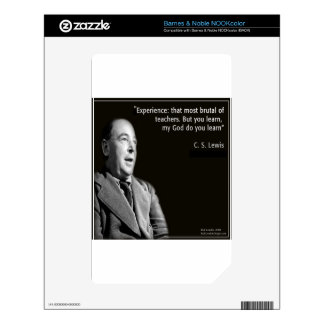 """CS Lewis """"My God"""" Quote Decals For The NOOK Color"""