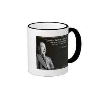 "CS Lewis ""My God"" Quote Ringer Mug"