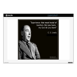 """CS Lewis """"My God"""" Quote Skin For Laptop"""