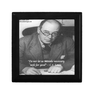 CS Lewis & Necessary Evil Quote Gift Boxes