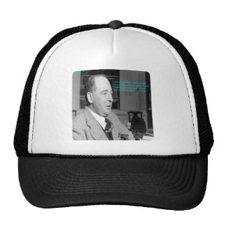 "CS Lewis & ""Other Worlds"" Quote Trucker Hat"