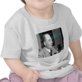 """CS Lewis & """"Other Worlds"""" Quote Tshirt"""