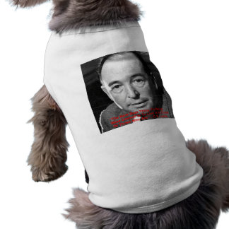 """CS Lewis """"Surround Yourself"""" Wisdom Quote Gifts Doggie T Shirt"""