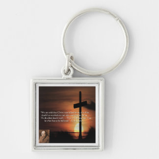CS Lewis W/Christian-Theme & Quote Gifts & Tees Keychain