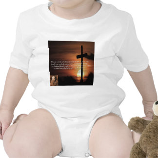 CS Lewis W/Christian-Theme & Quote Gifts & Tees Baby Bodysuits
