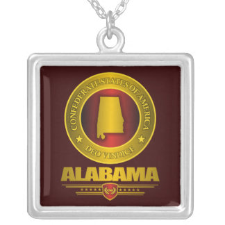 CSA -Alabama Silver Plated Necklace