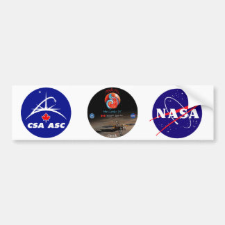 CSA and the Phoenix Lander Bumper Sticker