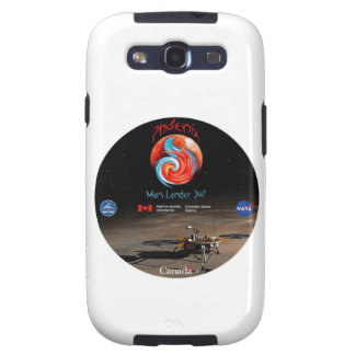 CSA and the Phoenix Lander Galaxy SIII Cases