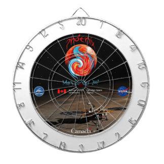 CSA and the Phoenix Lander Dartboard