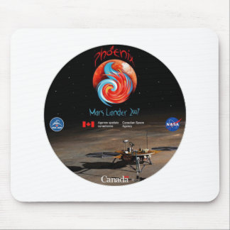 CSA and the Phoenix Lander Mouse Pads