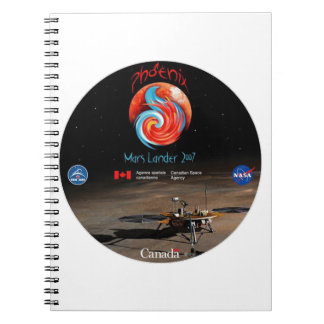 CSA and the Phoenix Lander Note Book