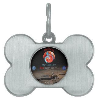 CSA and the Phoenix Lander Pet ID Tag